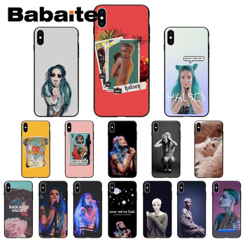 for iphone 11pro max Halsey Lyrics Hopeless Coque Shell Phone accessories Case for iphone X XS MAX 8 7plus 5S SE 6s XR Cover image