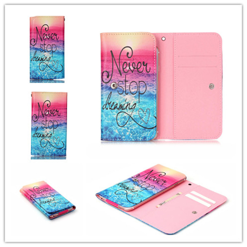 Fly IQ447 Era Life 1 Case 2016 Hot PU Leather Protection Phone Case3 With 12 Painting And Card Wallet