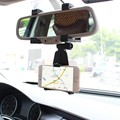 Auto Espejo Retrovisor Del Coche Horquilla Del Montaje Del Soporte Universal Para El Teléfono Celular GPS