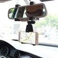 Auto Espelho Retrovisor Do Carro Montar Titular Suporte Cradle Para Universal Cell Phone GPS