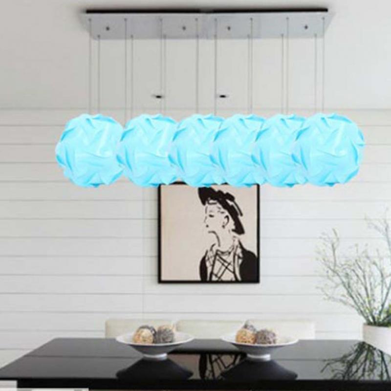 New Fashion IQ Puzzle Jigsaw Light Lamp Shade Ceiling Sizes 2 Colors Modern DesignChina