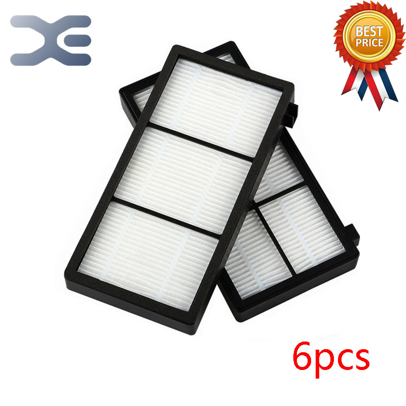 6Pcs Lot Vacuum Cleaner Parts High Quality IRobot 800 Series Sweeping Robot Accessories Filter Sea Apa Filter Cotton 20pcs lot vacuum cleaner parts high quality irobot 800 series sweeping robot accessories filter sea apa filter cotton