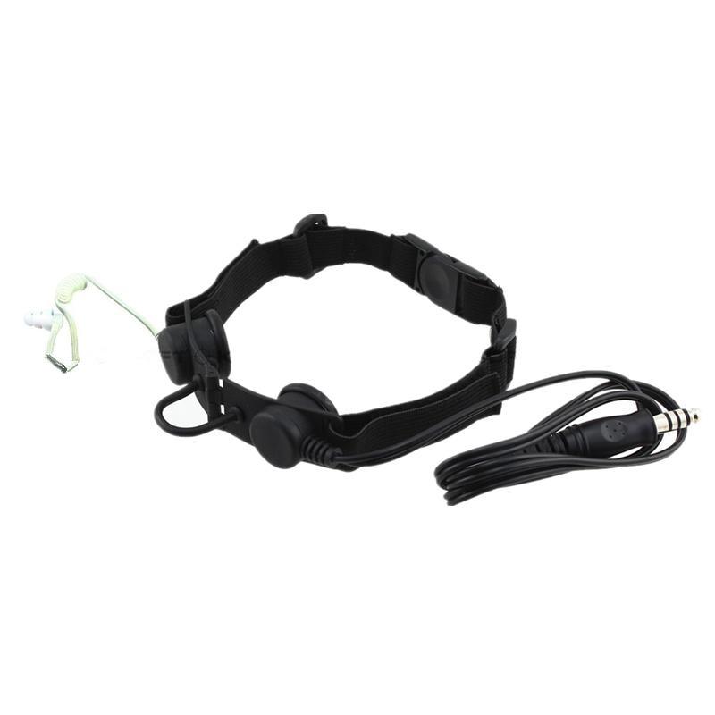 Z Tactical headphone Throat Mic Headset (Tan grijs - Jacht