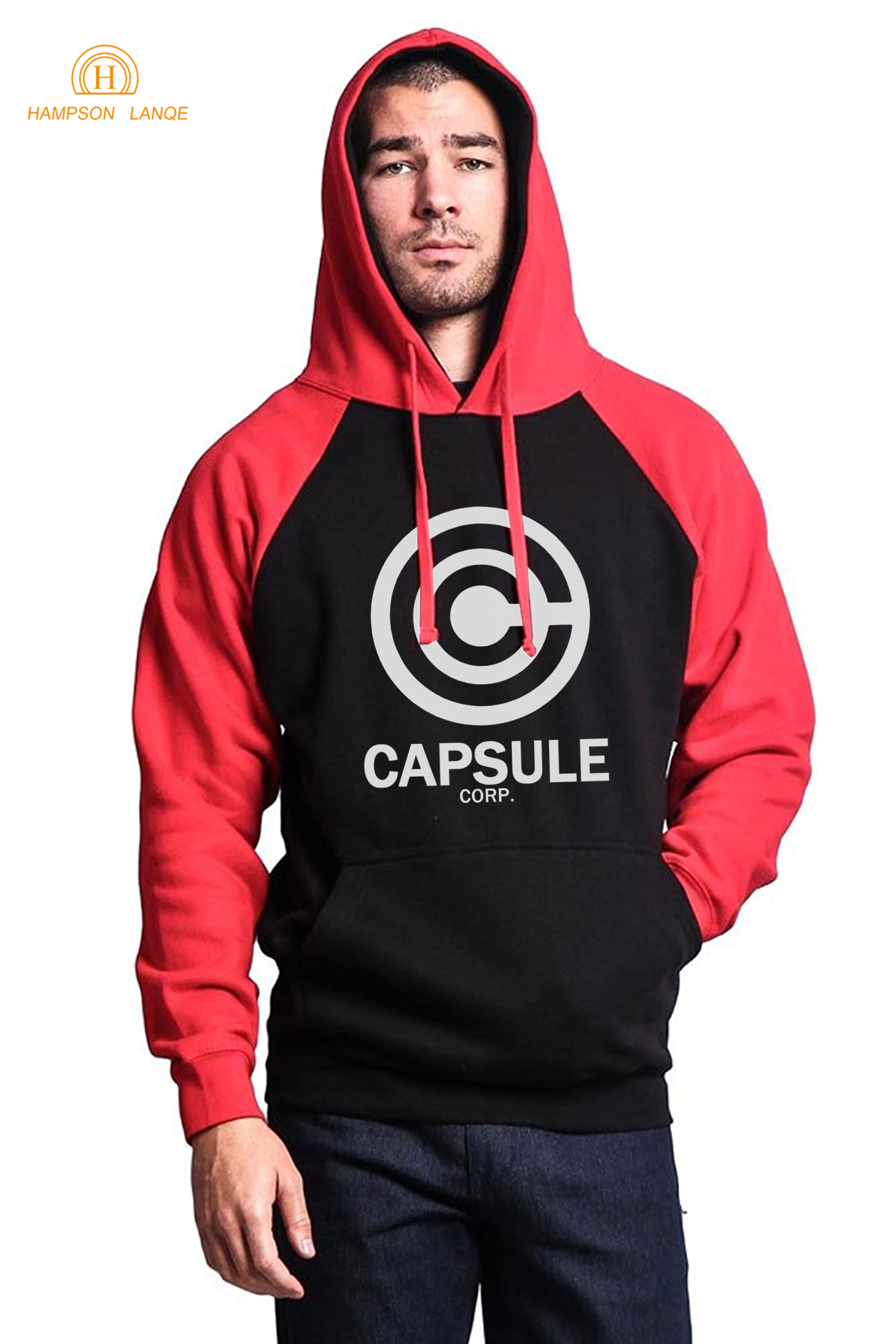 DRAGON BALL Z Capsule corp. Hoodies