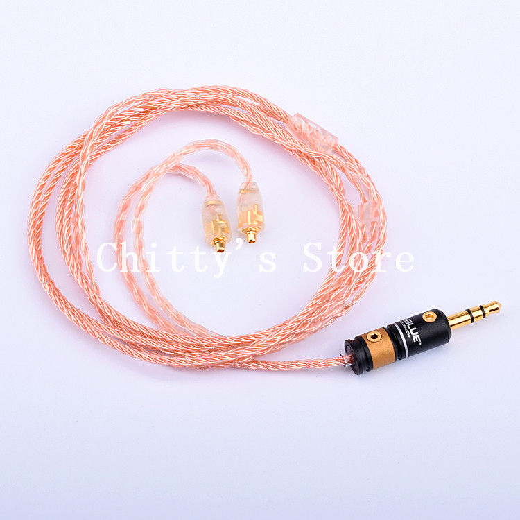 ФОТО se535 215 315 846 ue900 upgrade cable single crystal copper silver plated wire