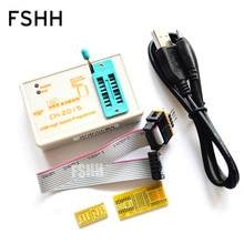 CH2015 resmi sürümü daha iyi EZP2010 EZP2013 yüksek hızlı USB SPI Programcı 24 25 93 EEPROM 25 flaş bios WIN7 WIN8 VISTA