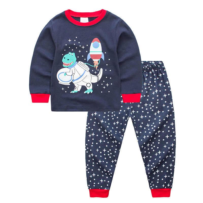 0f4c639eb ... Jargazol Kids Pajama Sets Casual Christmas Pajamas with Deer Pig Tiger  Navvy Cartoon Printed Carters Baby ...