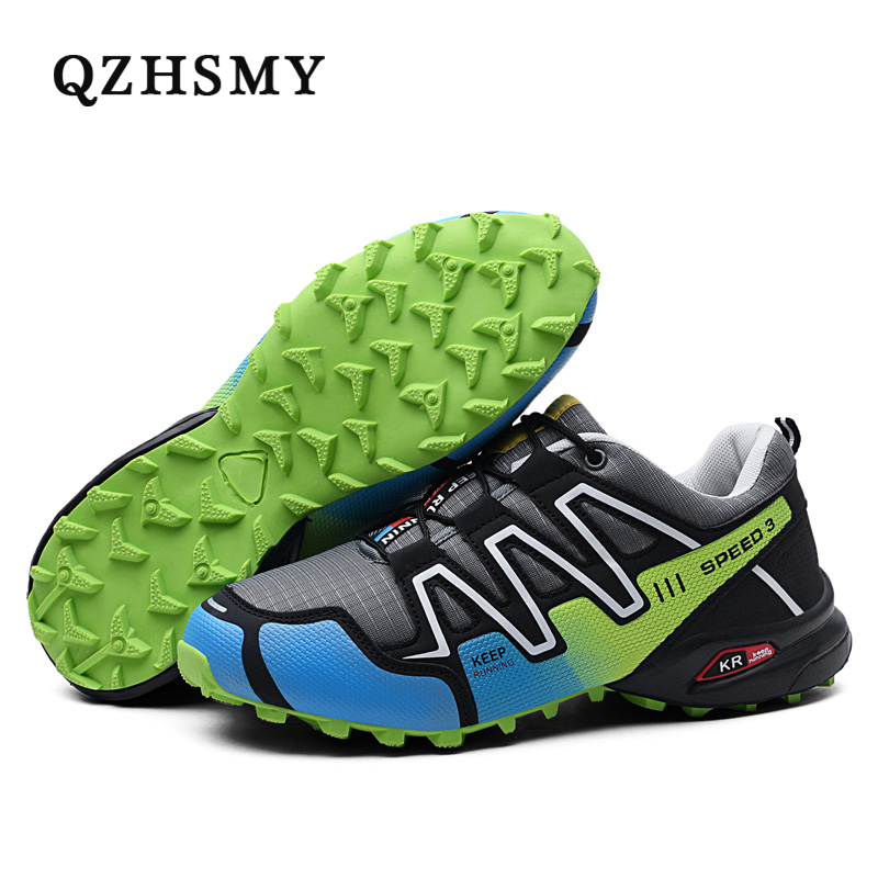 Men Hiking Shoes for Outdoor Sport Climbing Mountain Sneakers Breathable Mesh Soft Athletics Trekking Shoes new running shoes for men 2017 outdoor breathable mesh light flat shoes comfortable sneakers athletics women lovers sport shoes
