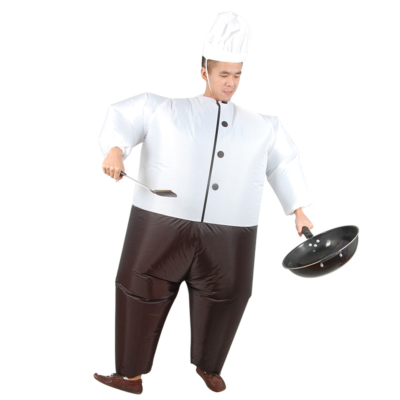 Cosplay sumo inflatable outfit funny cook costumes/ hat Purim Festival Halloween Carnival party costume adult