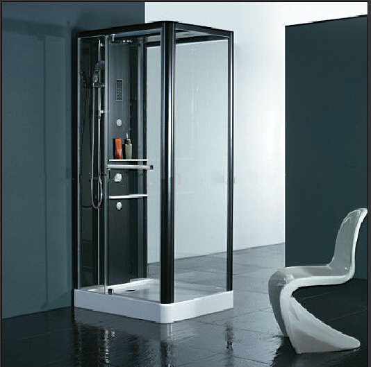 1000X800mm Square luxury steam shower enclosures bathroom steam shower cabins jetted massage walking-in sauna rooms 8048 8 shower rooms cabins pulley
