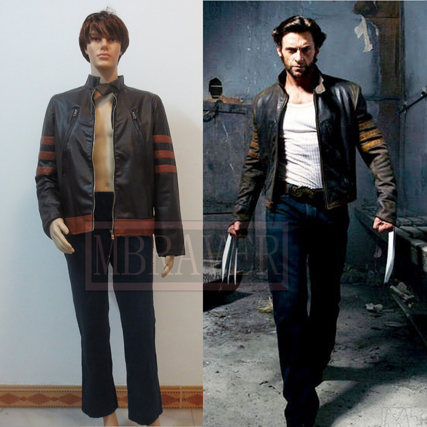 Free shipping HJ cosplay X men Wolverines James Logan Howlett cosplay costume