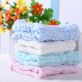 2pcs/Set 6 layer 28*28cm 100% Cotton Baby Bib Towel Gauze Muslin Washcloth Baby Wipe Sweat Absorbing baby bibs soft Handkerchief