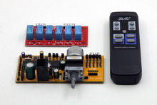 SENGTERBELLE MV04 4 Channel Telecomando di Controllo del Volume E Selezione Del Segnale di Ingresso Kit (Supporto ingresso bilanciato, uscita)