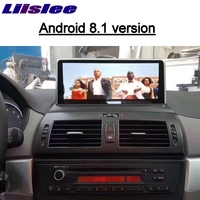 For BMW X3 E83 2003~2010 EVO ID6 LiisLee Car Multimedia GPS Map 10.25Android Audio Radio Stereo Original Style Navigation NAVI