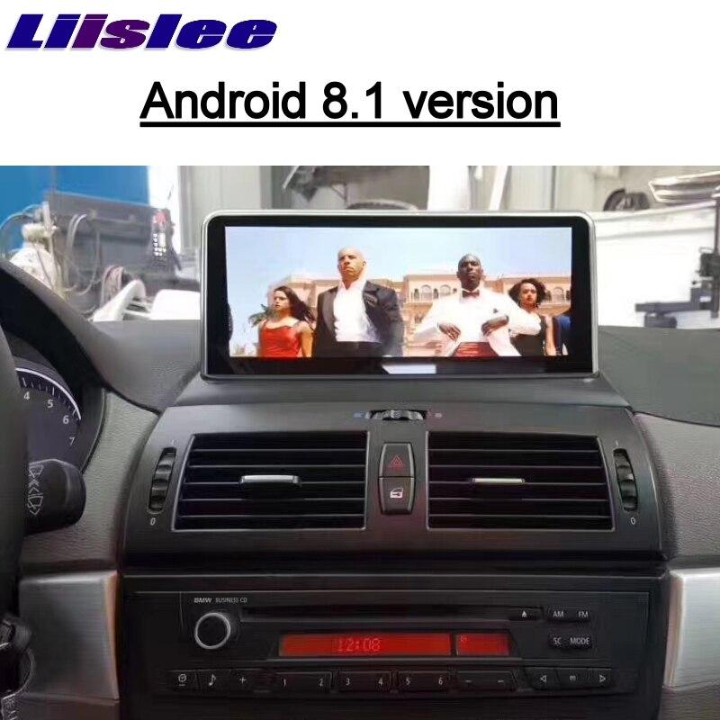 Pour BMW X3 E83 2003 ~ 2010 EVO ID6 LiisLee voiture multimédia GPS carte 10.25