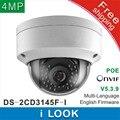 Envío gratis 2016 Nuevo DS-2CD3145F-I reemplazar DS-2CD3145F-IS DS-2CD2135F-IS DS-2CD3135F-IS $ NUMBER MP Cámara Domo POE SD IP CCTV cámara