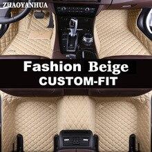 ZHAOYANHUA Custom fit автомобильные коврики для Infiniti M Y50 Y51 Q70 Q70L M25 M35 M35H M37 M37X M56 M25L M30 стайлинга автомобилей коврики для гильз