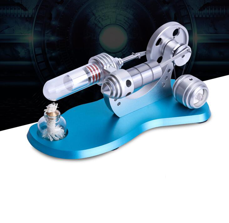 M14-03-L Micro Stirling engine model External combustion engine 4-9V Educational Toy Kits Y