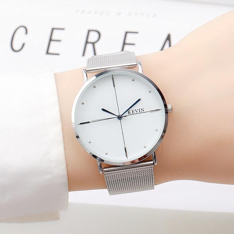 New Luxury Men's Watch Women's Ultra Thin Fashion Casual Watch Female Male Wristwatch Lovers Watch Relogio Masculino 2017