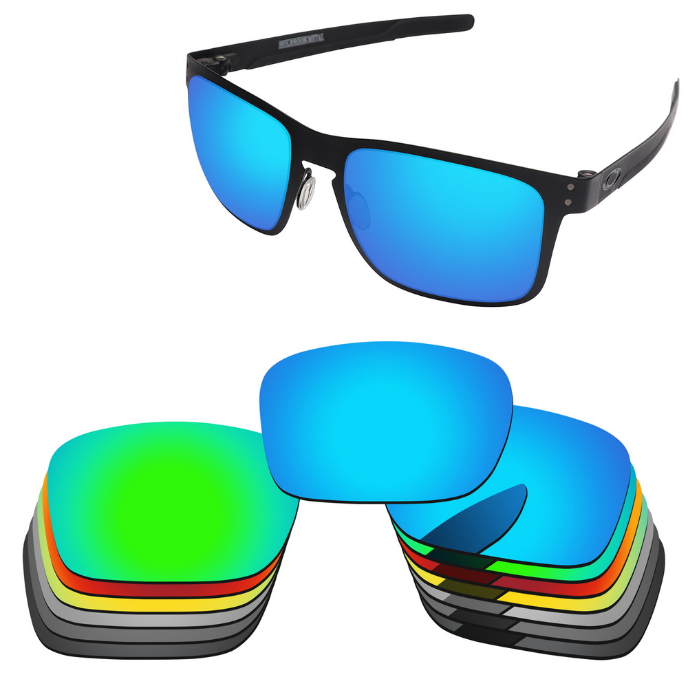 Polycarbonate-Replacement Lenses For Holbrook Metal Sunglasses Frame 100% UVA & UVB Protection-Muti Options-PC