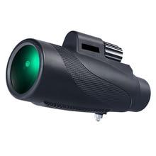 New HD 12x50 High Power Monocular  Waterproof Antifog Telescope BAK4 Prism for Hunting Bird Watch Quality Gift