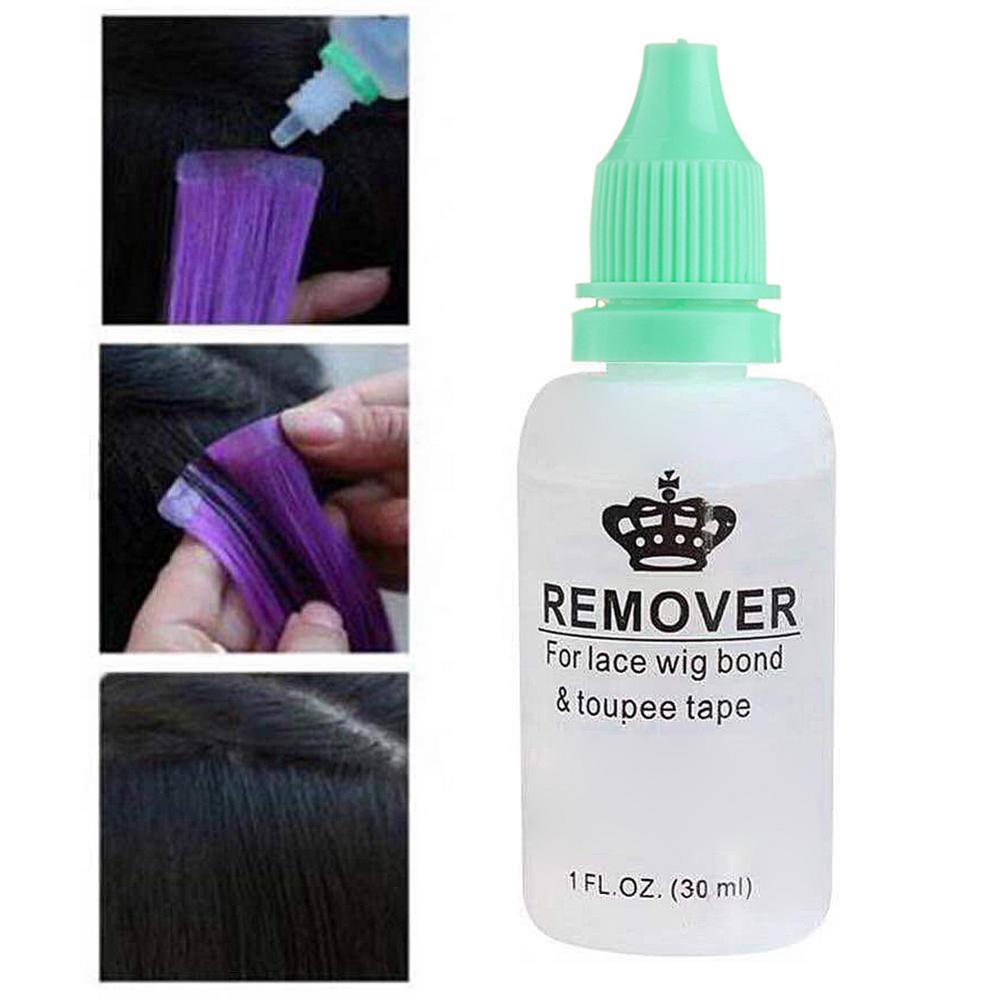 Супер Средство для удаления клея, бутылка для удаления клея для кружева парика-накладка, лента для кожи