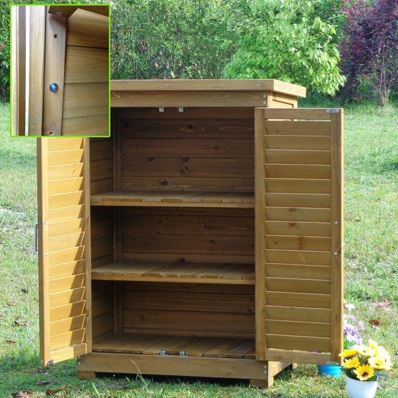 Outdoor Storage Cabinet Balcony Garden