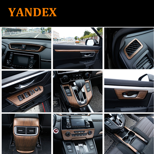 Car All Kinds Of Interior Accessories Peach Wood Decoration Cover