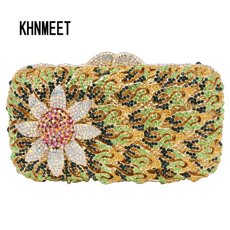 New Trending Beaded Diamond Ring Finger Evening Bags Shell Shape PEARL Beads Handcraft Clutch Bag Satchel