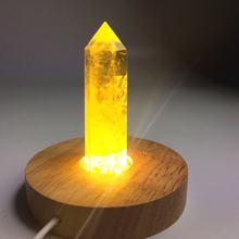 10 см ручная резная лампа из натуральных кристаллов европейская