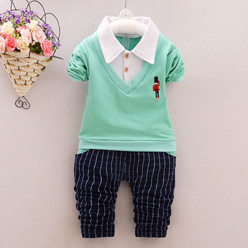 Terno infantil costume for boy cotton childen clothing shirt  pants boys suits for weddings clothing sets baby Gentleman Outwear