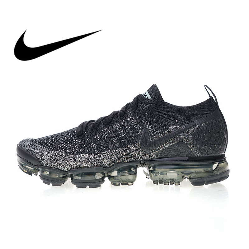 2cecd6abaae2 Nike Air VaporMax Flyknit 2.0 Men s Breathable Running Shoes Sport Outdoor Sneakers  Athletic Designer Footwear 2018