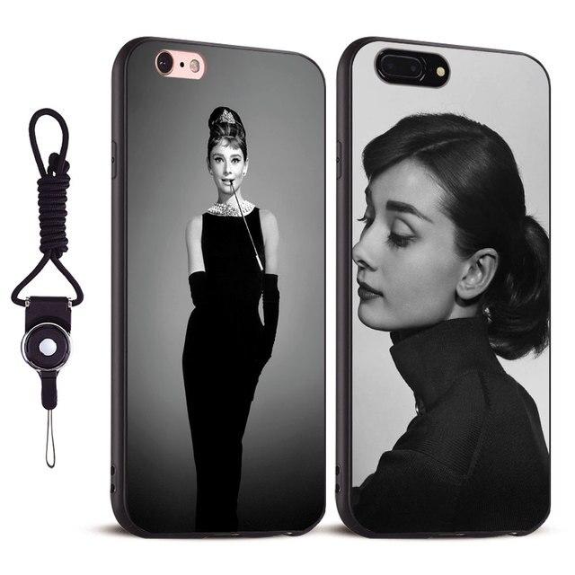 audrey hepburn iphone 7 case