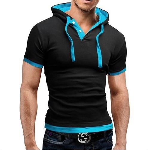 T-Shirt Homme Capuche 3
