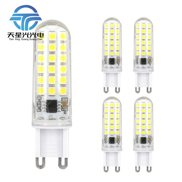 1pieces Free Shipping Ac220v High 3 Watt G9 Led Lamp Replace 40 Halogen