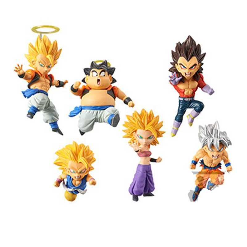 Detail Feedback Questions About 6pcsset Dragonball Z Gogeta Son