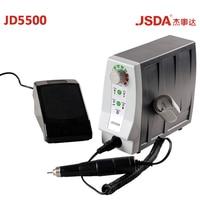 Настоящее JSDA JD5500 85 Вт 35000 об./мин. Электрический Advanced ногтей сверла профессионалов педикюр инструмент маникюр машина ногти Книги по искусств