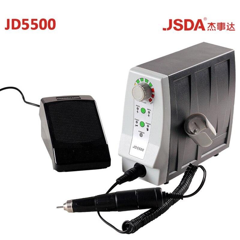 Reale JSDA JD5500 85 w 35000 rpm Elettrico Avanzato Nail Trapani Strumento di Pedicure Manicure Macchina Professionisti Unghie Apparecchiatura di Arte