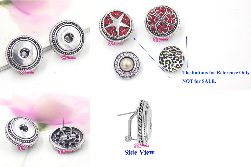 mini snap qwqp style buttons charms earrings button snaps back petite il noosa listing fullxfull