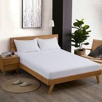 Envelope Pillowcase linen Bed Sheet 100% French Linen Fitted Sheet king queen twin size 3 pcs /lot