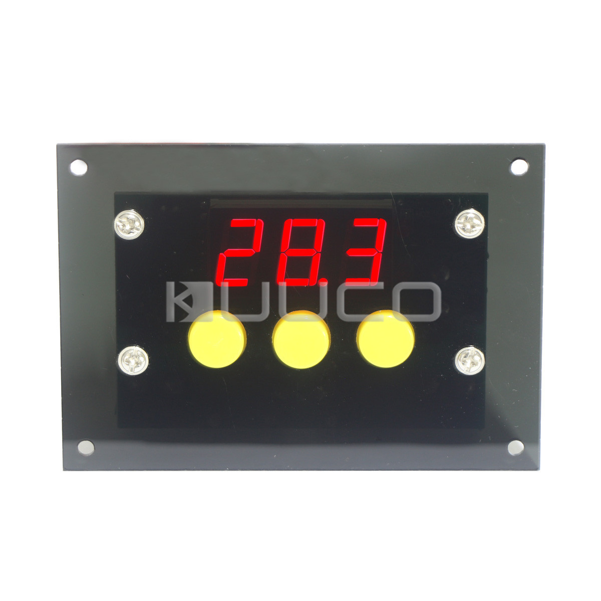 Mini Temp Controller -50~110 Celsius Degrees Digital Thermostat DC/AC 12V Temperature Difference Control Switch uxcell temperature range ac 250v 16a 3 terminals no nc temperature control capillary thermostat 50 300c 50 300c
