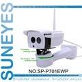 SP-P701EWP SunEyes Câmera IP Sem Fio Ao Ar Livre Pan Rotação por Software onvif 720 p hd com slot micro sd matriz ir night visão