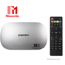 Mesuvida EMISH X810 Smart Android TV Box 2 ГБ 16 ГБ Rockchip RK3368 Octa Ядро 4 К Media Player Wi-Fi H.265 DLNA Miracast Set Top коробка