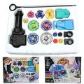 New Fusion Spinning Top Metal Master Rapidity Fight Rare Beyblade 4D Launcher Grip Set Kids Toys