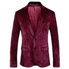 Мужская куртка весна и осень стиль Мужская мода тонкий костюм куртка мужская однобортная повседневная куртка мужская Банкетная одежда