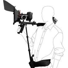 DSLR Rig Asta di Supporto/Cintura fit Supporto Della Spalla di Sostegno Video Videocamera Portatile Della Macchina Fotografica DV/DSLR NUOVO