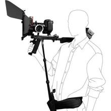 Rig DSLR תמיכת מוט/חגורת fit כתף הר תמיכת וידאו מצלמת וידאו מצלמה DV/DSLR חדש