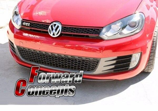 Для углеродного волокна 2010 2013 VW Golf 6 VI MK6 GTI центра губ