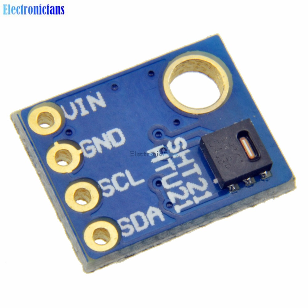 New Sht21 Digital Humidity And Temperature Sensor Module 3v 5v Thermometer Circuit Controller For Arduino Replace Sht11 Sht15 In Sensors From Electronic Components Supplies