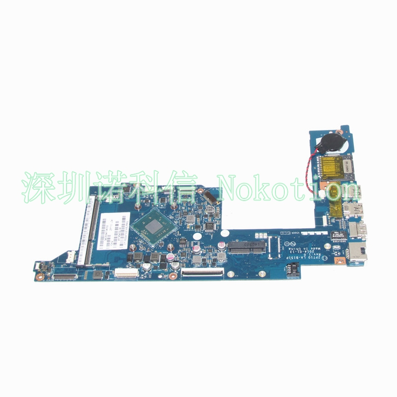 NOKOTION ZPT10 LA-B151P Laptop motherboard for HP Pavilion X360 11-N 758588-501 755724-501 755724-001 Mainboard Full works nokotion 687229 001 qcl51 la 8712p laptop motherboard for hp pavilion m6 m6 1000 hd7670m ddr3 mainboard full tested